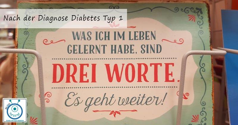 Diagnose Erfahrung Kind Diabetes Typ 1